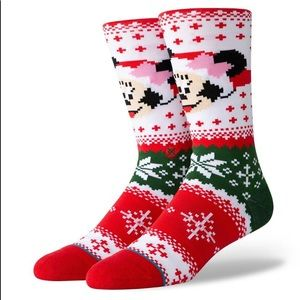 Stance Minnie Claus Crew Height Sock